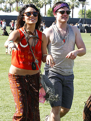 Celeb Sightings: Vanessa Hudgens, Rihanna, Kellan Lutz, Usher, Ashley Greene