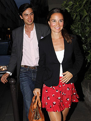 Pippa Middleton Parties in Paris