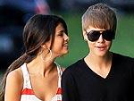 Justin Bieber & Selena Gomez Window Shop in Los Angeles