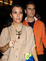 Kourtney Kardashian & Scott Disick's Glam Bowling Outing | Kourtney Kardashian, Scott Disick