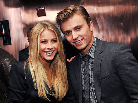 Julianne Hough Parties with Her Footloose Costar in N.Y.C.