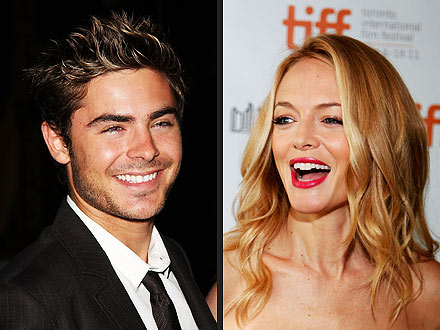 Zac Efron & Heather Graham Get a Gift: $100,000 in Champagne!
