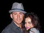 Channing Tatum Cozies Up to Jenna Dewan over Dinner | Channing Tatum, Jenna Dewan