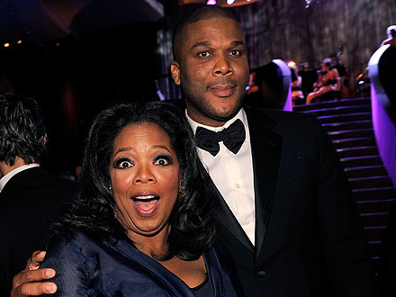 Oprah & Tyler Perry Go to Church in Texas