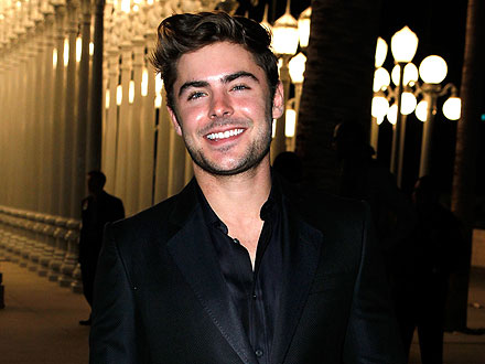 Zac Efron Amuses Himself at a Burlesque Show in L.A.