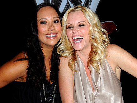 Jenny McCarthy & Cheryl Burke Show Off Their Dance Moves in L.A.