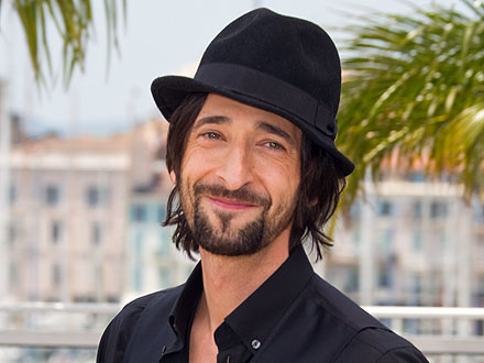 Adrien Brody Parties Poolside in Miami