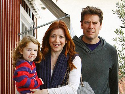 Inside Alyson Hannigan's Family Seafood Dinner