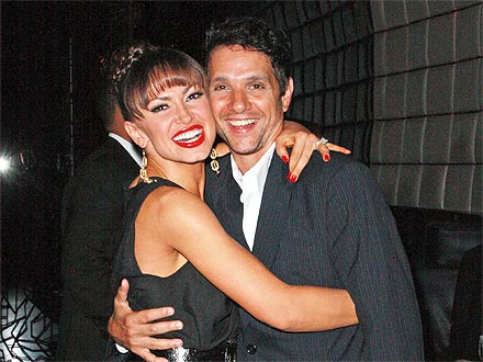 Karina Smirnoff Reteams with Ralph Macchio for Laughter-Filled Dinner