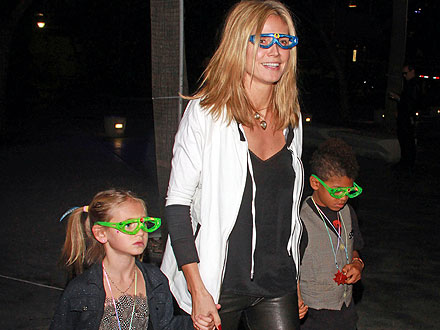 Heidi Klum Takes Her Kids to Katy Perry's Concert