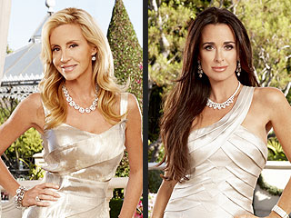 Camille Grammer, Kyle Richards: Real Housewives of Beverly Hills Fight
