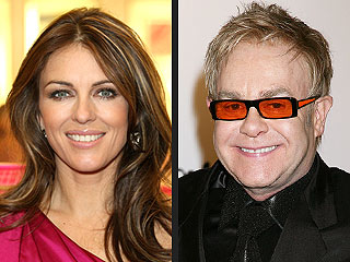 Elizabeth Hurley: Elton John Will Be a 'Wonderful' Dad
