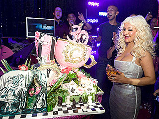 Christina Aguilera Starts a New Chapter with the New Year