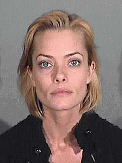 Jaime Pressly's Mug Shot Released