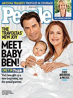 John Travolta and Kelly Preston's New Baby Benjamin