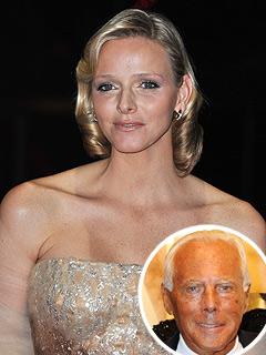 Charlene Wittstock to Wed Monaco's Prince Albert in Armani Dress