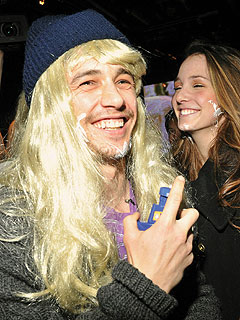 Why Did James Franco Wear a Blond Wig at Sundance?