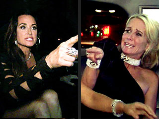 Real Housewife Kyle Richards Speaks Out About Limo Fight with Sister