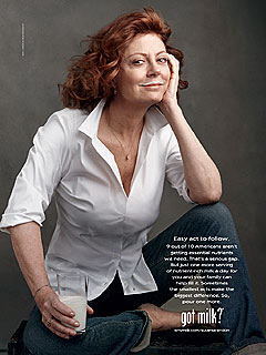 PHOTO: Susan Sarandon's 'Got Milk?' Ad