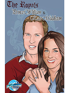 Prince William, Kate Middleton Comic Book