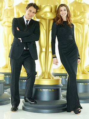 Oscars - Anne Hathaway & James Franco as Hosts: Thumbs Up or Down?