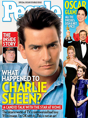 Charlie Sheen Talks Rachel Oberlin, Crazy Lifestyle