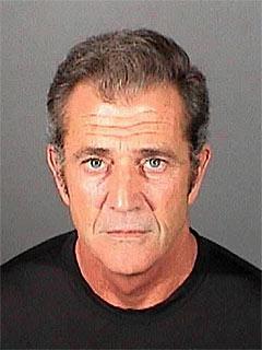 Mel Gibson Mugshot Picture