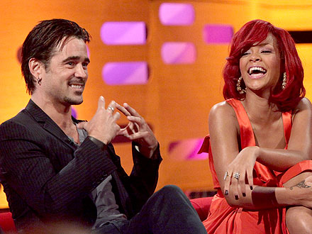 Rihanna, Colin Farrell Not Dating