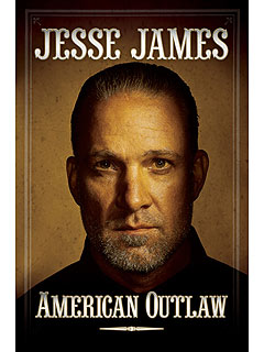 Jesse James Uncovers Memoir Book Jacket
