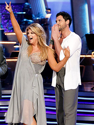 Maksim Chmerkovskiy, Kirstie Alley Fall on Dancing with the Stars
