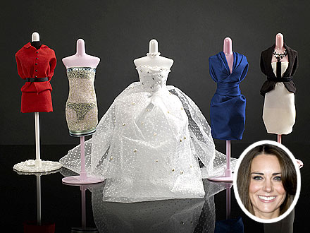 Kate Middleton Harumika Doll Clothes