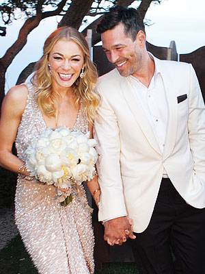 LeAnn Rimes and Eddie Cibrian's Official Wedding Portrait
