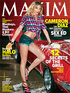 Cameron Diaz, Rosie Huntington Whiteley in Maxim Hot 100