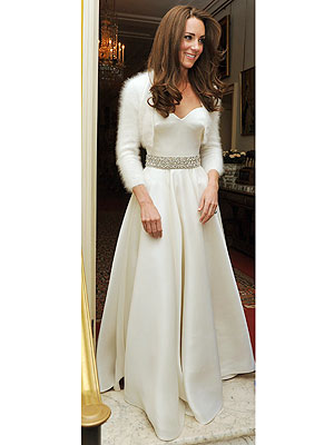 Kate Middleton's Second Wedding Dress: Also Alexander McQueen