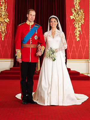 Kate Middleton's Wedding Dress Goes on Display