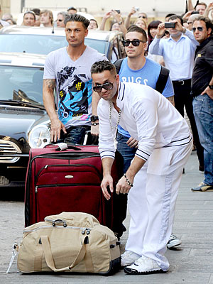 Italy Welcomes Cast of Jersey Shore