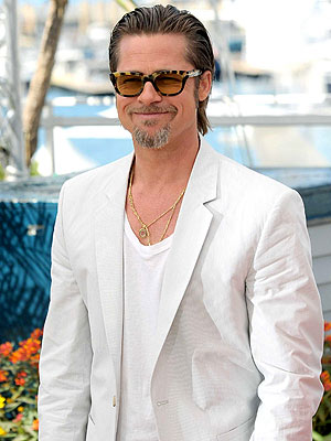 Tree of Life - Brad Pitt Appears at Cannes Film Festival with Angelina Jolie