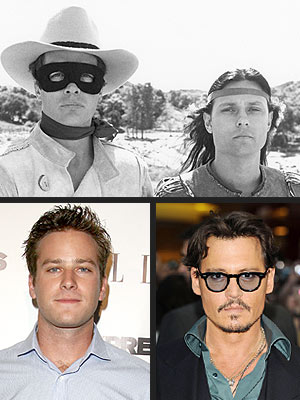 Johnny Depp, Armie Hammer Star in Lone Ranger