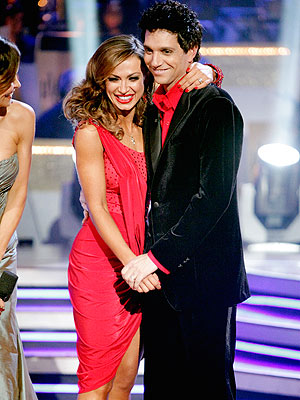 Ralph Macchio, Karina Smirnoff, Dancing Elimination