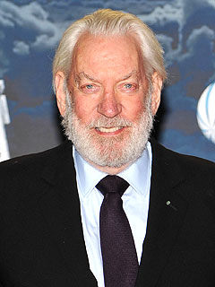 Donald Sutherland Elected as Hunger Games President