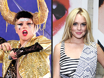 Lady Gaga, Lindsay Lohan, Charlie Sheen on Broadway?