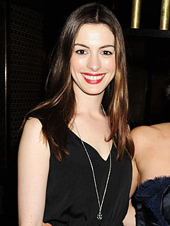 Anne Hathaway's Beau Feeds Her French Fries