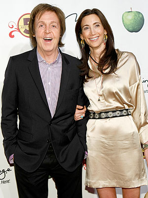 Paul McCartney, Nancy Shevell Post Wedding Notice