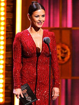 Catherine Zeta-Jones Sparkles at Tony Awards