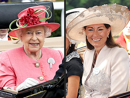 Royal Ascot: Carole Middleton, Queen Elizabeth Arrival
