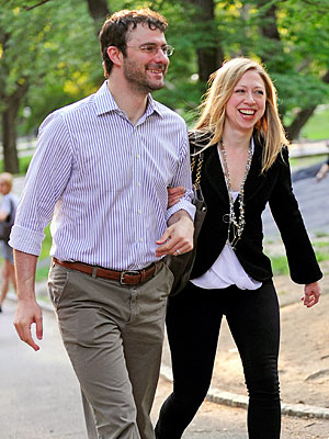 Chelsea Clinton, Marc Mezvinsky&#39;s Romantic Night in Central Park