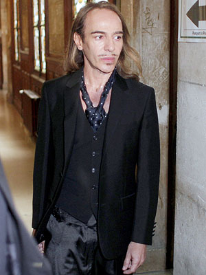 John Galliano Guilty of Anti-Semitic Comments