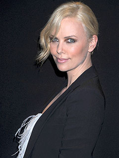 Charlize Theron Gets Nutty Gift from Male Friend