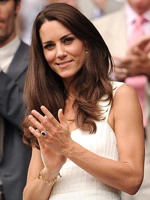 Kate Middleton Wears Charm from Camilla