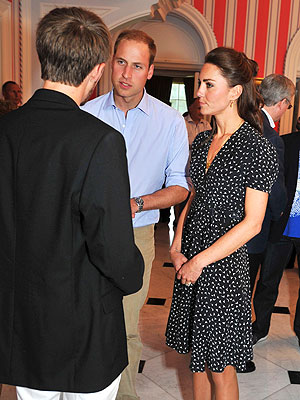William and Kate Canada Tour: Kate Wears Issa